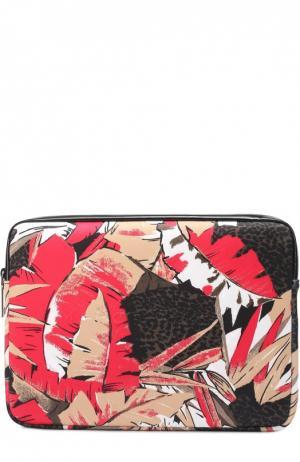 Чехол для ноутбука с принтом Marc Jacobs. Цвет: разноцветный