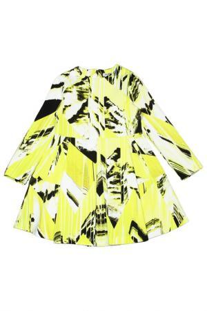 Платье Kenzo. Цвет: лимонный
