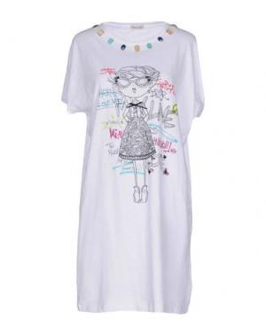 Короткое платье EMMA&GAIA. Цвет: белый