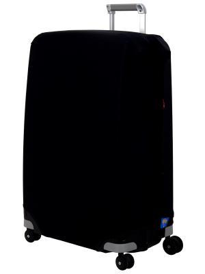 Чехол для чемодана Black L/XL Coverway. Цвет: черный