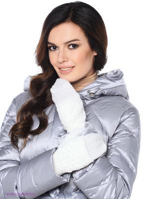 Варежки Milana Style. Цвет: белый