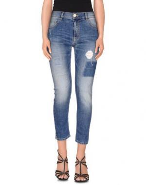 Джинсовые брюки NELL&ME. Цвет: синий