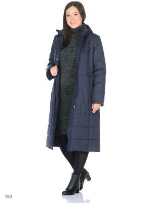 Пальто ROOSA Maritta. Цвет: синий