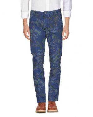 Повседневные брюки UNIFORM. Цвет: грифельно-синий