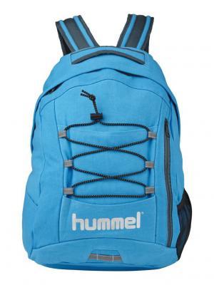 Рюкзак TECH BACK PACK HUMMEL. Цвет: голубой