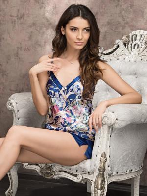 Пижама MIA-MELLA. Цвет: синий