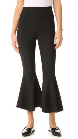 Укороченные расклешенные брюки Pirate Georgia Alice. Цвет: голубой