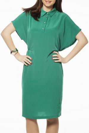 Платье ZEDD. Цвет: зеленый