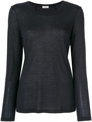 Рубашка с длинными рукавами Toteme. Цвет: чёрный