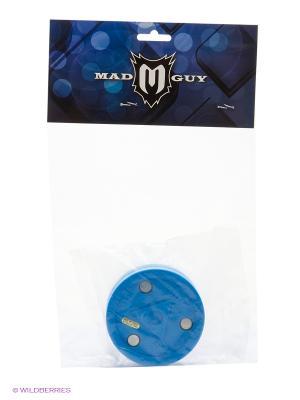 Шайба для тренировки ведения Blue cake синий MAD GUY. Цвет: синий
