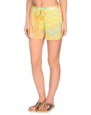 Пляжные брюки и шорты NAORY. Цвет: желтый