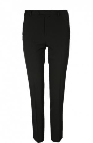 Прямые брюки со стрелками REDVALENTINO. Цвет: черный