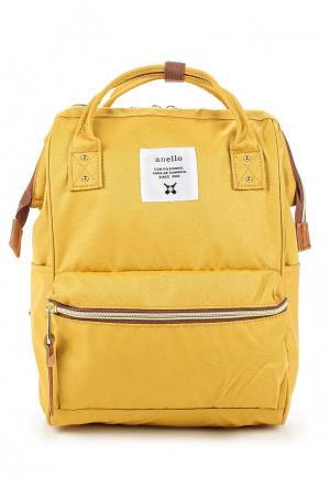 Рюкзак Anello. Цвет: желтый