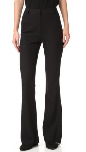 Расклешенные брюки Jenni Kayne. Цвет: голубой