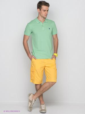 Бермуды U.S. Polo Assn.. Цвет: желтый