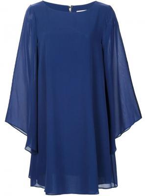Платье Eleonora Alice+Olivia. Цвет: синий