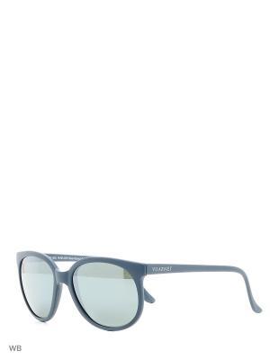 Солнцезащитные очки VL 0002 0021 PURE GREY Vuarnet. Цвет: синий