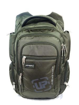 Рюкзак UFO PEOPLE. Цвет: зеленый