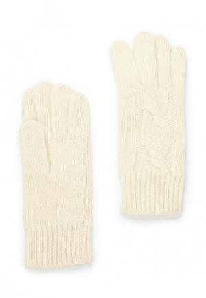 Перчатки Fabretti. Цвет: белый