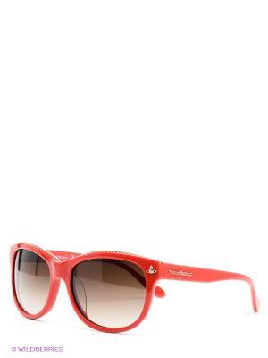 Солнцезащитные очки Vivienne Westwood. Цвет: красный