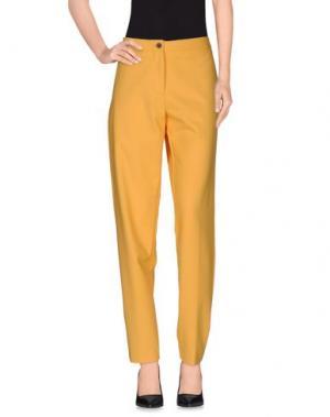Повседневные брюки AALTO. Цвет: абрикосовый