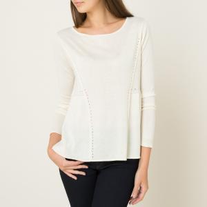 Пуловер из шерсти и шелка YEAR BA&SH. Цвет: антрацит