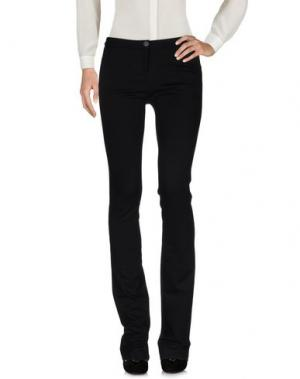 Повседневные брюки NIOI. Цвет: черный