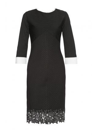 Платье из вискозы 177529 Cristina Effe. Цвет: черный