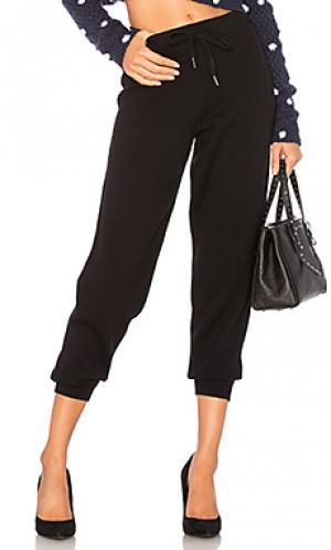 Спортивные брюки serene 360CASHMERE. Цвет: черный