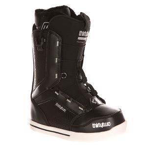 Ботинки для сноуборда женские  Z 86 Ft Black Thirty Two. Цвет: черный