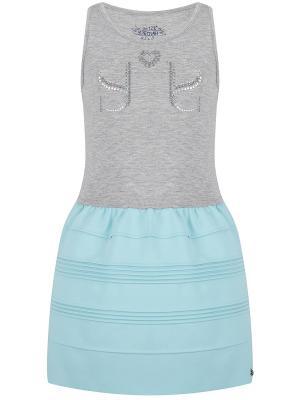 Платье, Dorie, цвет серый/голубой (Grey Melange/Ariel) SUPERTRASH