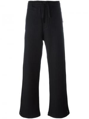 Широкие брюки Maharishi. Цвет: чёрный