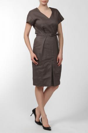 Платье Ivo Nikkolo. Цвет: коричневый