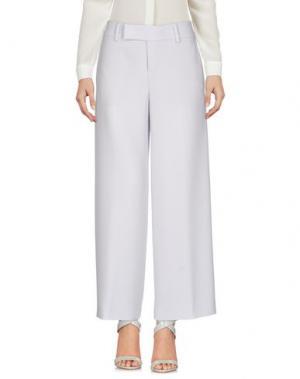 Повседневные брюки STRENESSE. Цвет: светло-серый