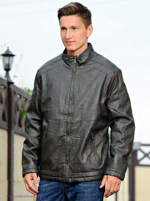 Куртка Conver Vintage. Цвет: темно-серый