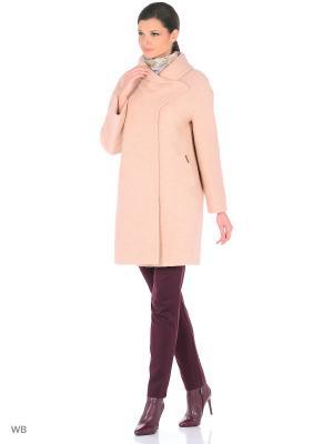 Пальто Victoria Bloom. Цвет: бежевый