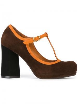 Туфли Liberty Chie Mihara. Цвет: коричневый
