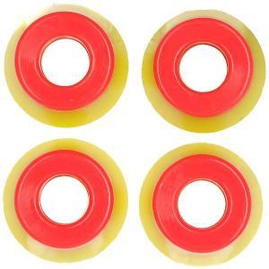 Амортизаторы для скейтборда  Yellow/Red Юнион. Цвет: желтый,красный