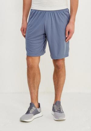 Шорты спортивные adidas. Цвет: голубой