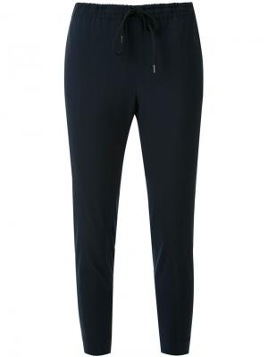 Crepe trim trousers Scanlan Theodore. Цвет: чёрный