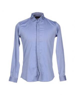 Pубашка JULIAN KEEN. Цвет: синий
