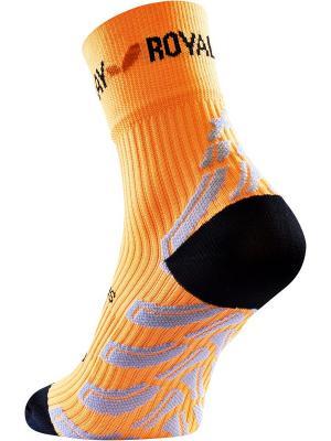Носки Royal Bay Neon HIGH-CUT. Цвет: оранжевый