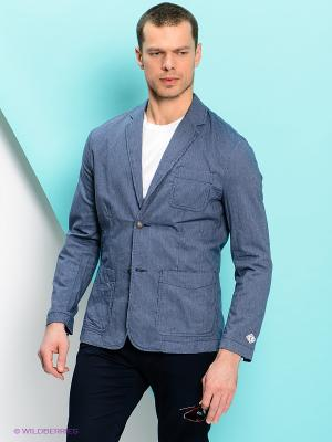 Пиджак PEPE JEANS LONDON. Цвет: синий, белый