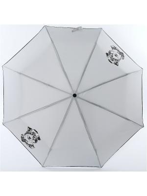 Зонт ArtRain. Цвет: серо-голубой, черный