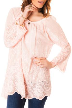 Блуза LES GAMINES DE PARIS. Цвет: розовый