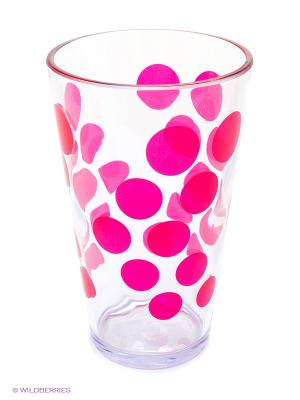 Стакан/DOT DOT/фуксия Zak!designs. Цвет: розовый