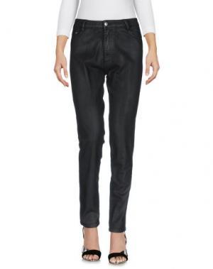 Джинсовые брюки EACH X OTHER. Цвет: черный