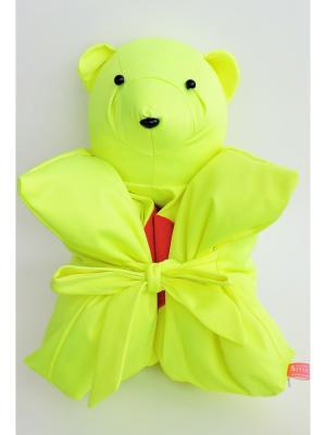 Декоративная подушка Mammi. Цвет: желтый