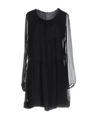 Короткое платье B.YU. Цвет: темно-синий