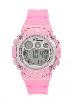 Часы Disney. Цвет: розовый